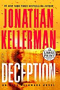 Deception (Large Print) (Alex Delaware Novels) Cover
