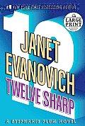 Twelve Sharp (Large Print)