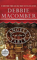 Angels at the Table: A Shirley, Goodness, and Mercy Christmas Story (Large Print) Cover