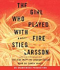 Girl Who Played With Fire Unabridged