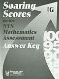 Soaring Scores on the NYS Mathematics Assessment, Answer Key, Level G (Soaring Scores) Cover