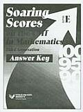 Soaring Scores on the CMT in Mathematics Third Generation, Answer Key, Level E (Soaring Scores)