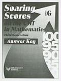 Soaring Scores on the CMT in Mathematics Third Generation, Answer Key, Level G (Soaring Scores)