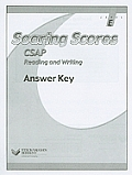 Soaring Scores CSAP Reading and Writing, Answer Key, Level E (Soaring Scores) Cover