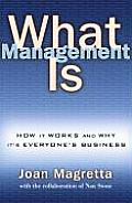 What Management Is How It Works & Why