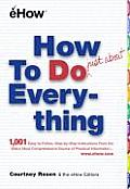How to Do Just about Everything: Just about Cover
