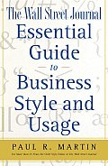Wall Street Journal Essential Guide To Busines
