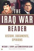 Iraq War Reader