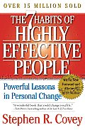 7 Habits of Highly Effective People Powerful Lessons in Personal Change