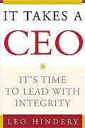 It Takes a CEO Its Time to Lead with Integrity