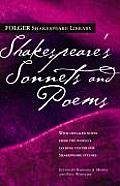 Shakespeare's Sonnets and Poems (Folger Shakespeare Library) Cover