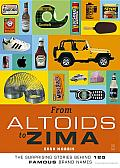 From Altoids to Zima: The Surprising Stories behind 125 Famous Brand Names Cover
