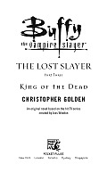King Of The Dead Buffy Lost Slayer 3