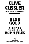 Blue Gold Numa Files Kurt Austin