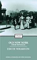 Old New York Four Novellas
