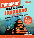 Pimsleur Quick & Simple Japanese 3RD Edition