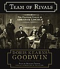 Team of Rivals: The Political Genius of Abraham Lincoln (Abridged) Cover