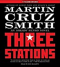 Three Stations (Arkady Renko Novels) (Abridged) Cover