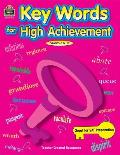 Key Words for High Achievement (Teacher Created Materials TCM 3612)