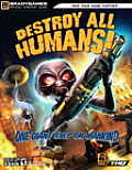 Destroy All Humans!(tm) Official Strategy Guide (Osg - Official Strategy Guide) Cover