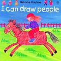 I Can Draw People (Usborne Playtime) Cover