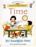 Time Sticker Learning Book
