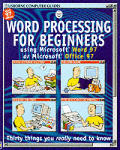 Word Processing: Using Microsoft Word 97 or Microsoft Office 97 (Usborne Computer Guides)