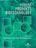 Forest Products Biotechnology Ence on Manufacturing Research Cover