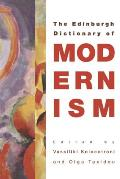 A Dictionary of Modernism