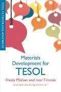 Materials Development for TESOL