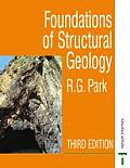 Foundation of Structural Geology Cover