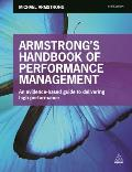 Armstrong's Handbook Of Performance Management: An Evidence-Based Guide To Delivering High Performance by Michael Armstrong
