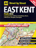 Street By Street East Kent Plus Rye