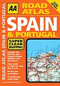 AA Road Atlas Spain & Portugal (AA Spain & Portugal Road Atlas)