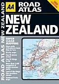AA Road Atlas New Zealand.