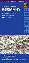 Aa Road Map Germany