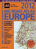 2012 Big Road Atlas Europe