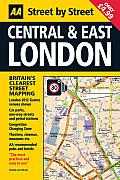 Central & East London (AA Street by Street)
