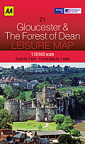 Leisure Map Gloucester & the Forest of Dean