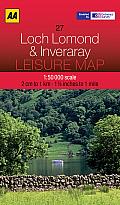 Leisure Map Loch Lomond & Inveraray