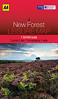 Leisure Map New Forest