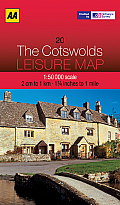 Leisure Map The Cotswolds