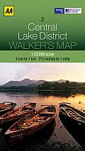 Walker's Map Central Lake District