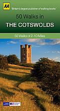 50 Walks in the Cotswolds: 50 Walks of 2-10 Miles
