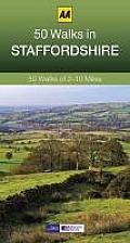 50 Walks in Staffordshire: 50 Walks of 2-10 Miles