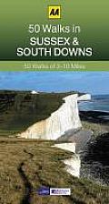 50 Walks in Sussex & South Downs: 50 Walks of 2-10 Miles