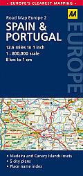 Road Map Spain & Portugal