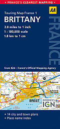Road Map Brittany