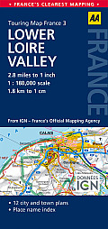 Road Map Lower Loire Valley