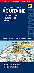 Road Map Aquitine
